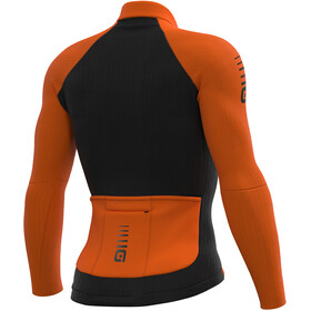 Alé Cycling Clima Protection 2.0 Warm Race Longsleeve Jersey Heren, fluo orange